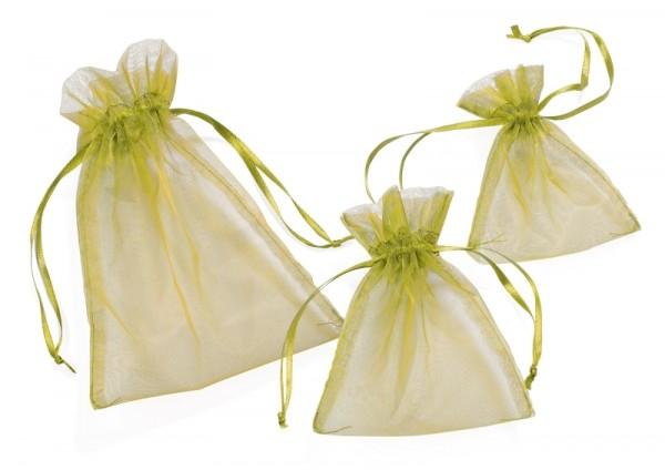 Organza-Säckchen olive L