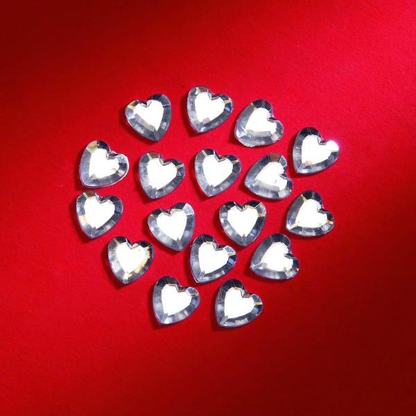 Herzen silber 12mm