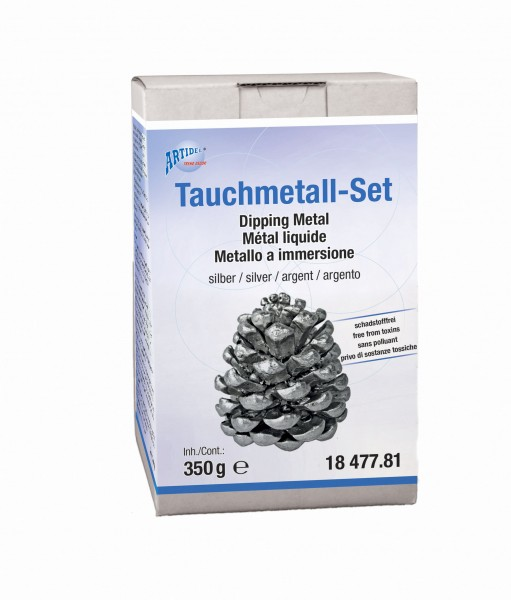 Tauchmetall-Set silber