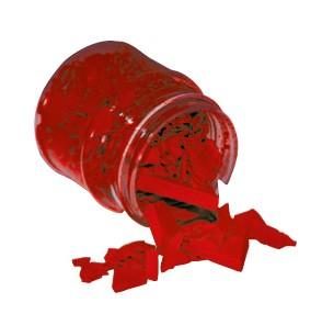 Wachsfarbpigment-Konzentrat dunkelrot