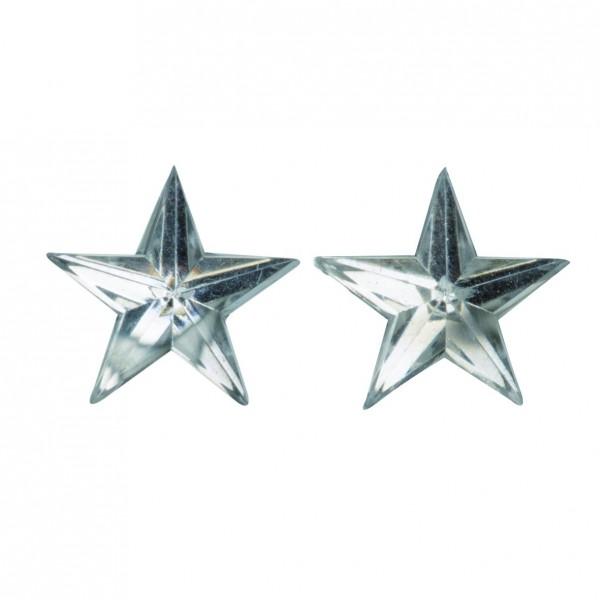 Sterne selbstklebend in silber