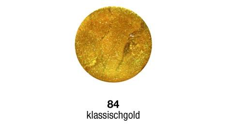 Pulverfarbe Sapolina gold