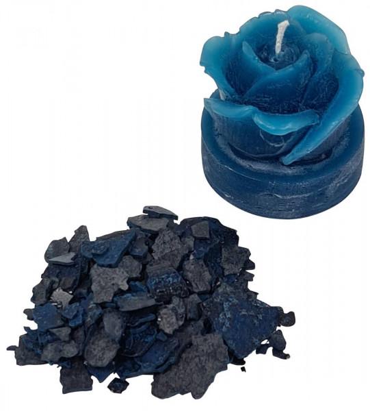 Kerzenfarbe Pigment ozeanblau-türkis