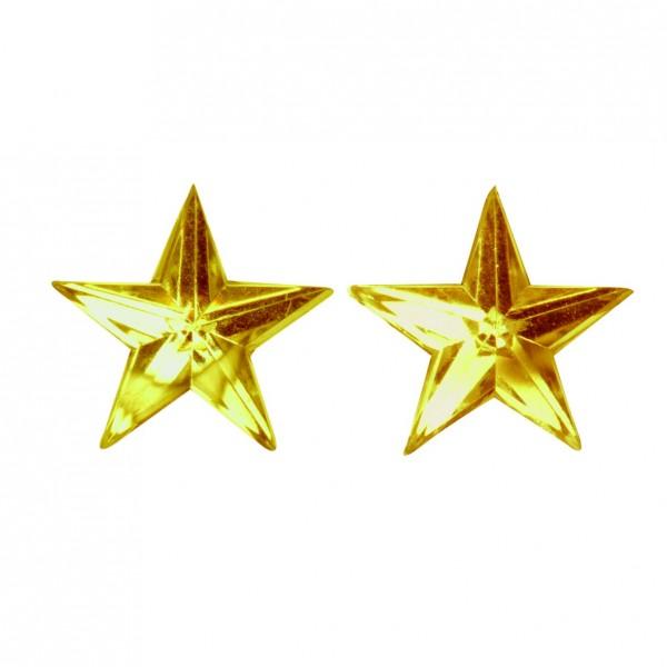 Sterne selbstklebend in gold
