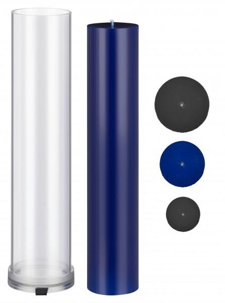 Zylinder D 55mm H 280mm Kerzengießform