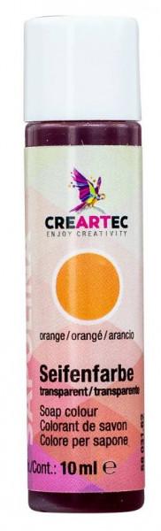 orange Flüssigfarbe Sapolina