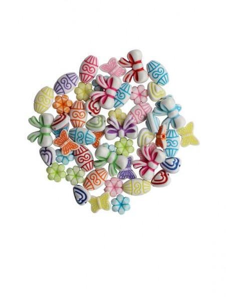 Schmuck-Perlen Mix opak 25g