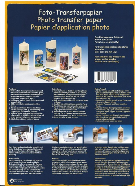 Foto-Transferpapier