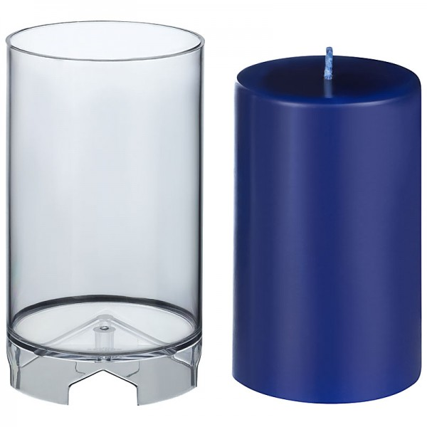 Zylinder D 82mm H 130mm Kerzengießform