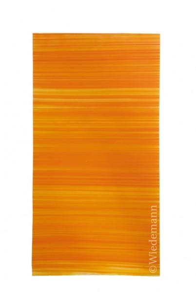 Verzierwachs Orange veredelt gestreift