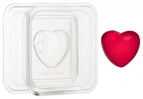 Herz 3D Seifengießform
