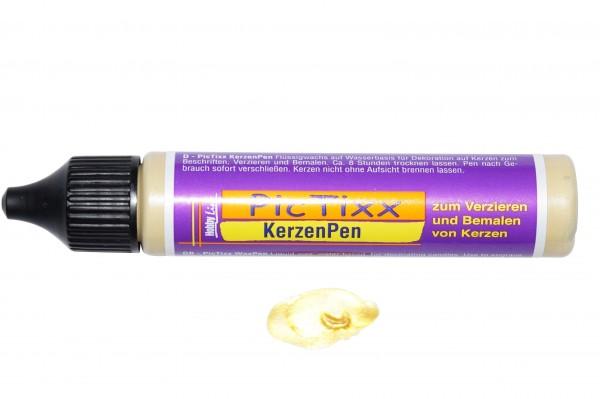 Kerzen-Pen Inkagold