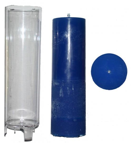 Zylinder D 67mm H 220mm Kerzengießform