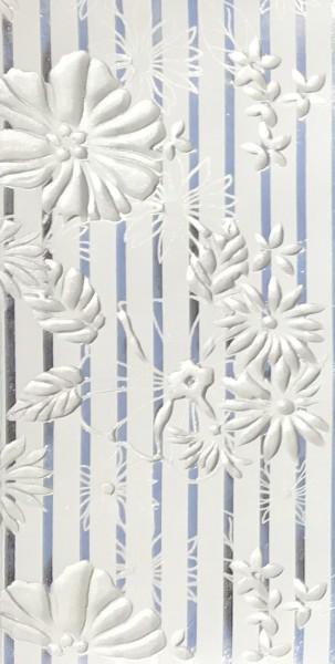 Verzierwachs Bouquet silber