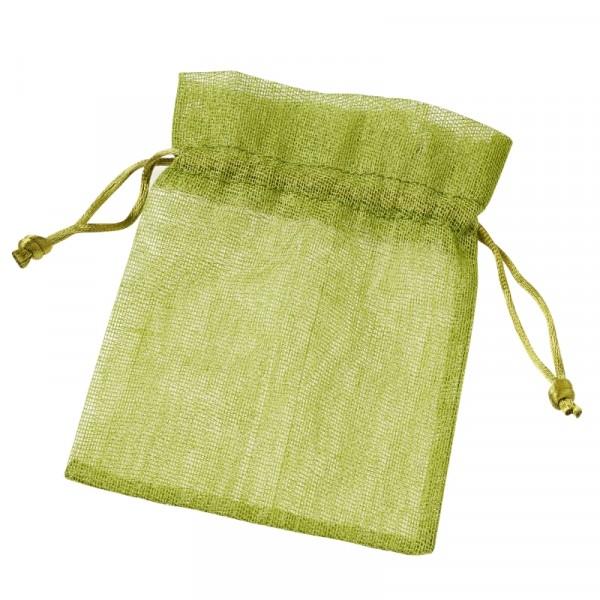 Baumwoll-Säckchen grün