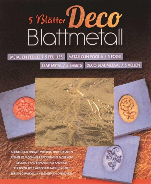 Blattmetall gold
