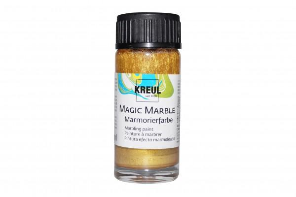 Marmorier-Farbe Gold