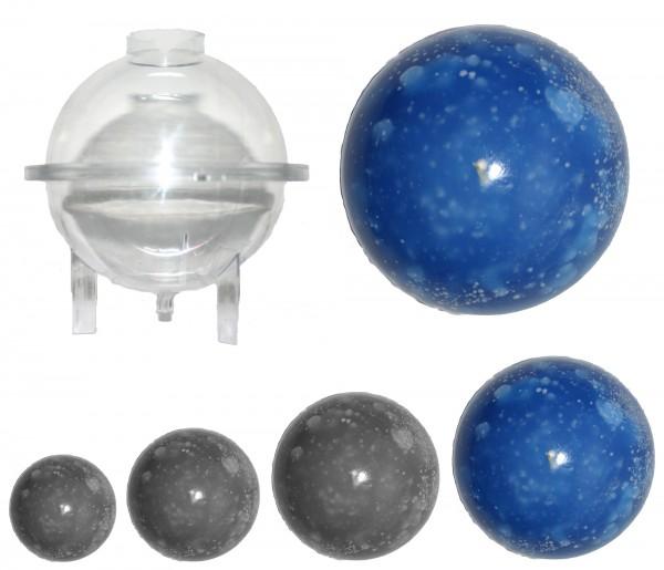 Kugel gross D: 120mm Kerzengießform