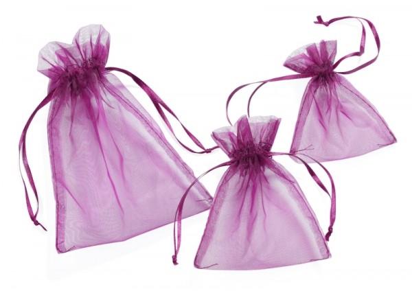 Organza-Säckchen lavendel M