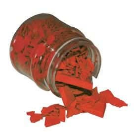 Wachsfarbpigment-Konzentrat mittelrot
