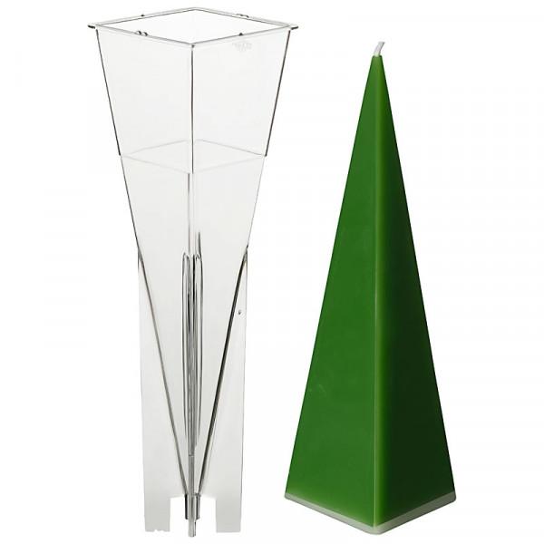 Pyramide 60x60mm Kerzengießform