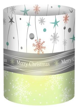 Merry Christmas Mini-Tischlicht