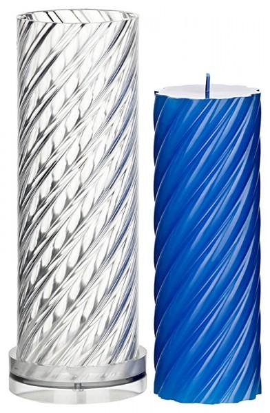 Spiralenzylinder (durchgehend) Kerzengießform