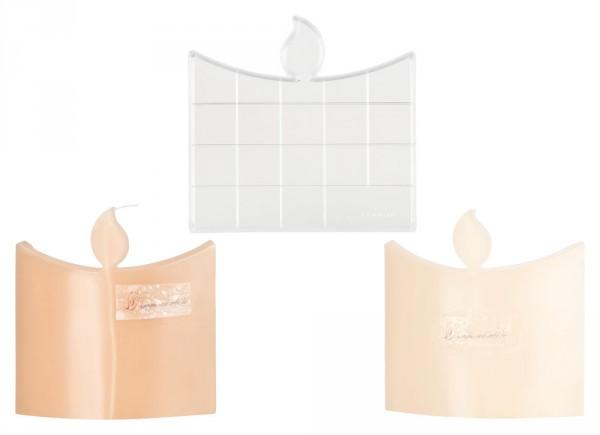 Kerze Flachkerzen-/Wachslichtgießform