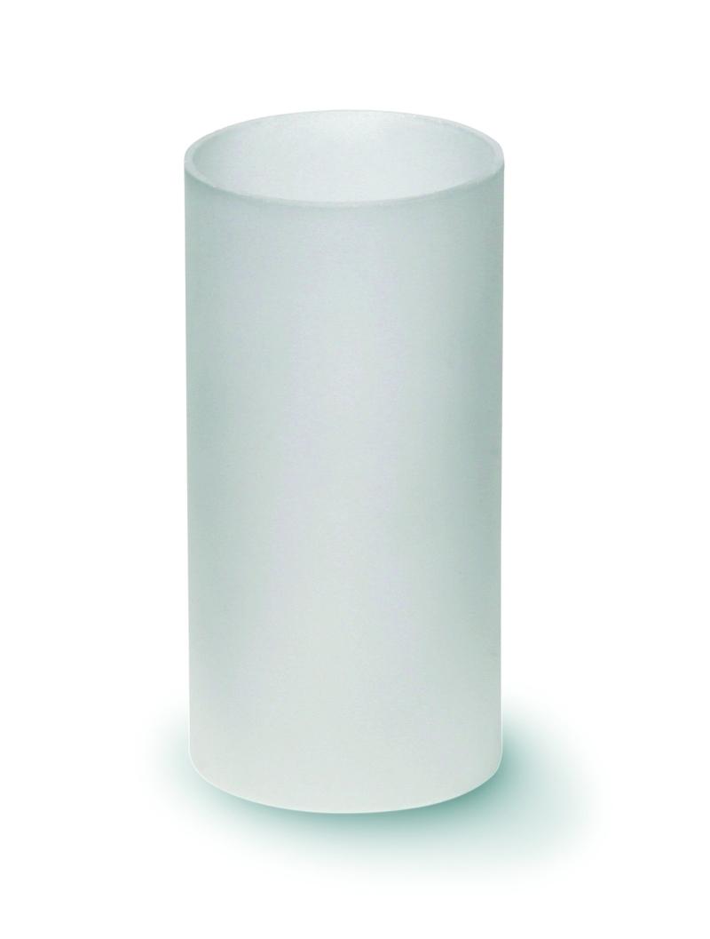 glaszylinder f r teelichthalter gefrostet gl ser kerzengiessen. Black Bedroom Furniture Sets. Home Design Ideas