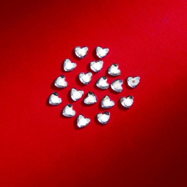 Herzen silber 6mm