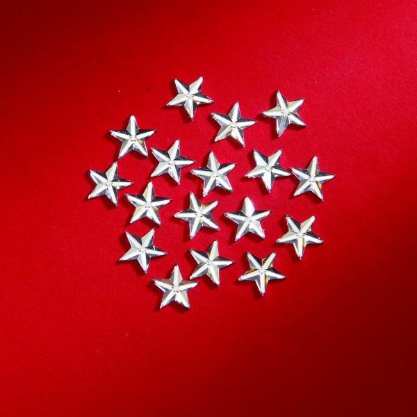 Sterne silber 10mm