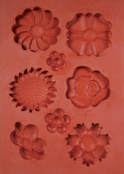 Blumen Siliko-Schmelz-/Giessform