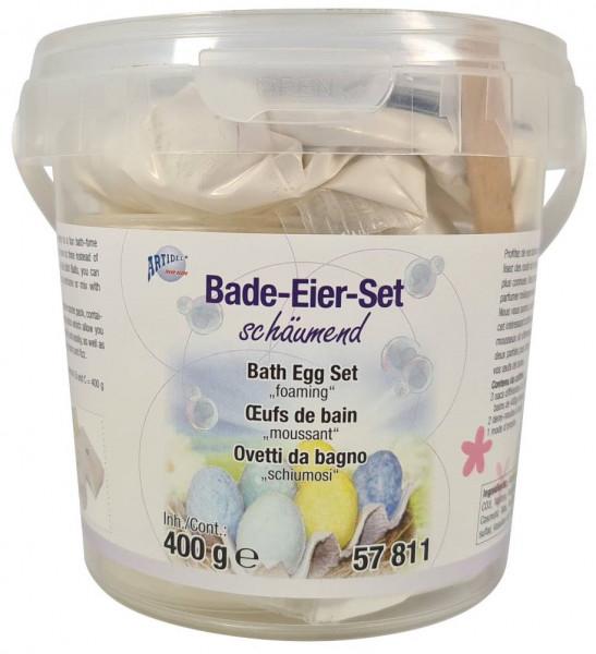 Bade-Eier-Set schäumend 400g
