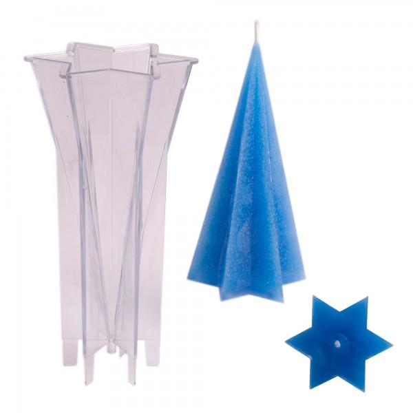 Sternkegel Kerzengießform