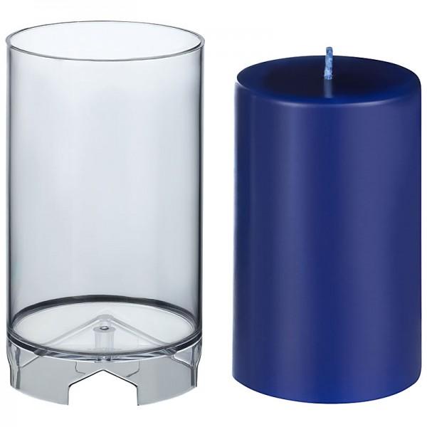 Zylinder D 72mm H 117mm Kerzengießform