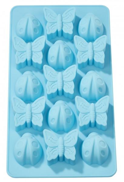 Marienkäfer-Schmetterling Seifengießform