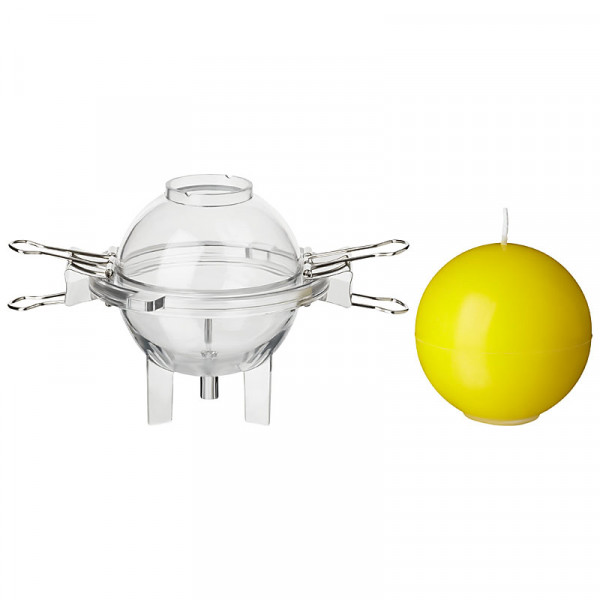 Kugel klein D: 65mm Kerzengießform