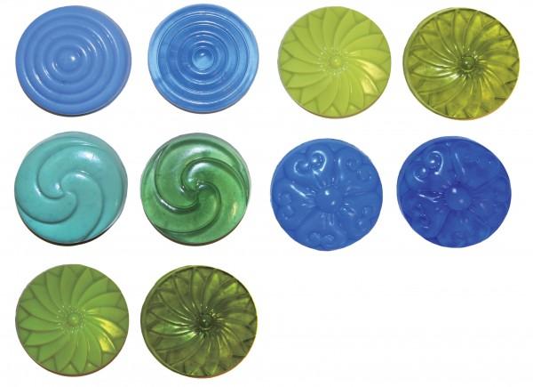 Flüssigfarbe Sapolina enzian
