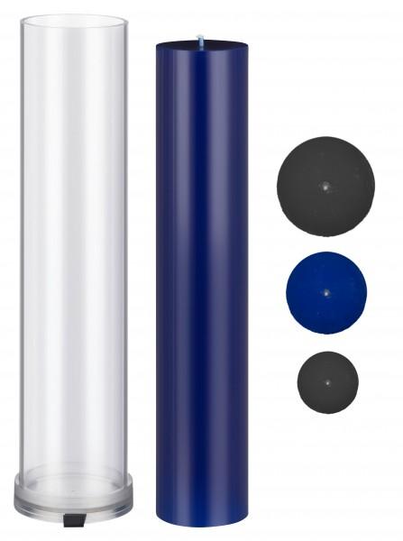 Zylinder D 60 mm H 280 mm Kerzengießform