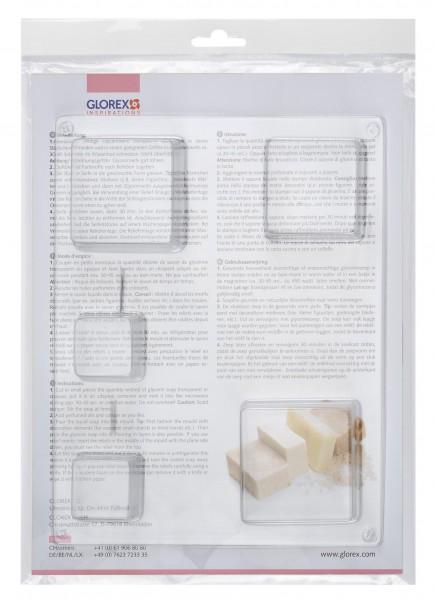 quadratisch 35 -65 mm Seifengießform