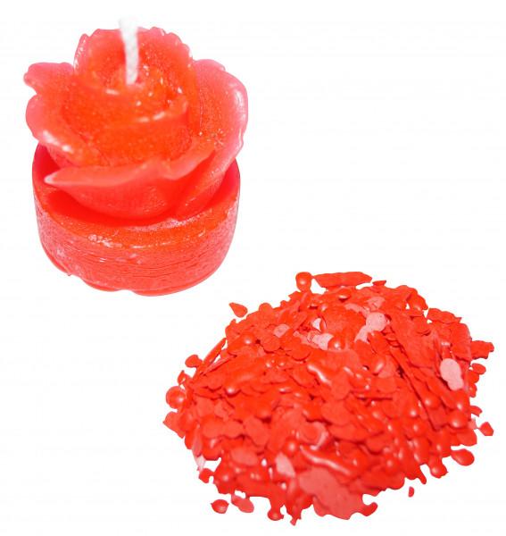 Kerzenfarbe Pigment neonrot