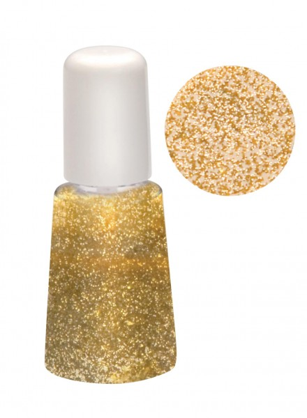 gold glitter Seifenlack