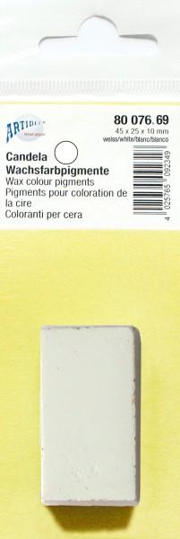 Wachsfarbpigmente weiß
