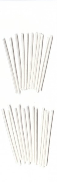Flachdocht 3x10 gewachst 3,5cm