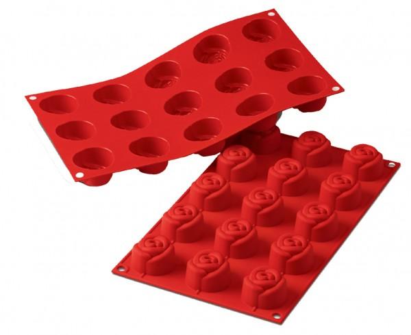 Rosen Mini Seifengießform