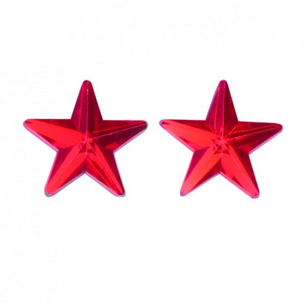 Sterne selbstklebend in rot