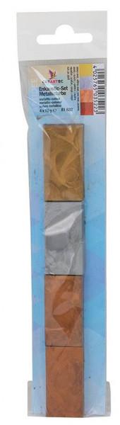 Enkaustic-Set Malfarben metallic