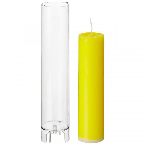 Zylinder D 47mm H 220mm Kerzengießform