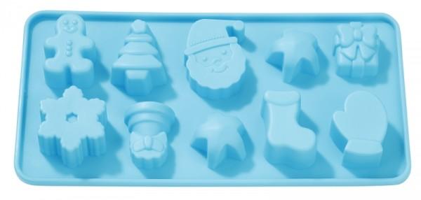 Weihnachten-Springerle Seifengießform